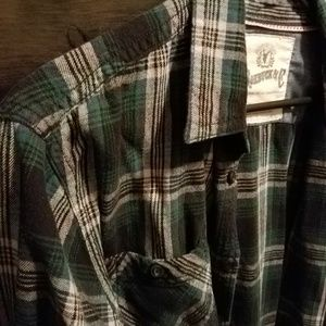 XL flannel shirt.
